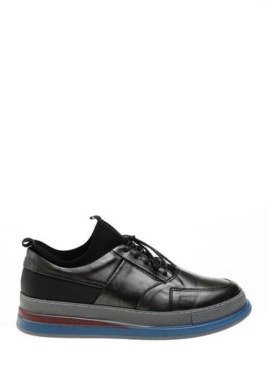 D by Divarese Deri Sneakers Gri